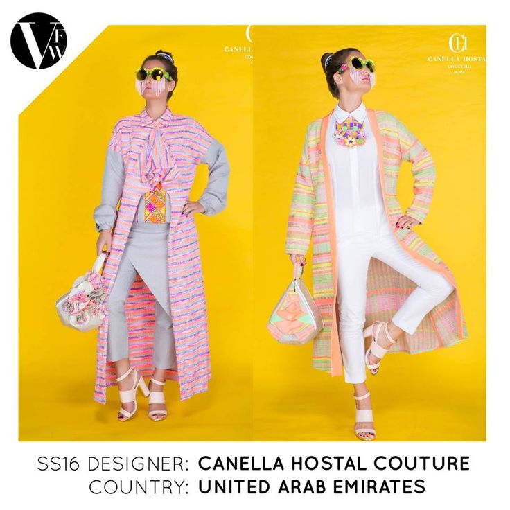Canella was born in a creative French family and was inspired by her grand mother who already had a fashion atelier in Paris and Lyon in the fifties. Now living in Dubai, impressed and very open to the mix of cultures, meeting people from all over the world, she gets her colourful energy from the amazing contrast between her native French origins and the Orient. Read more here: http://vanfashionweek.com/canella-hostal-couture/