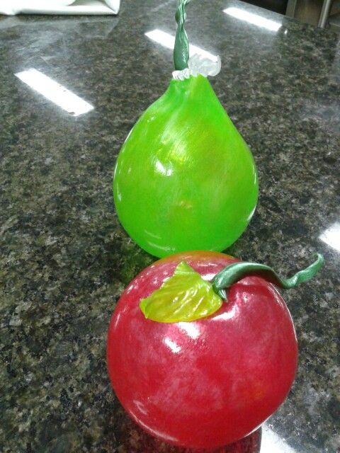 Fruits en sucre.