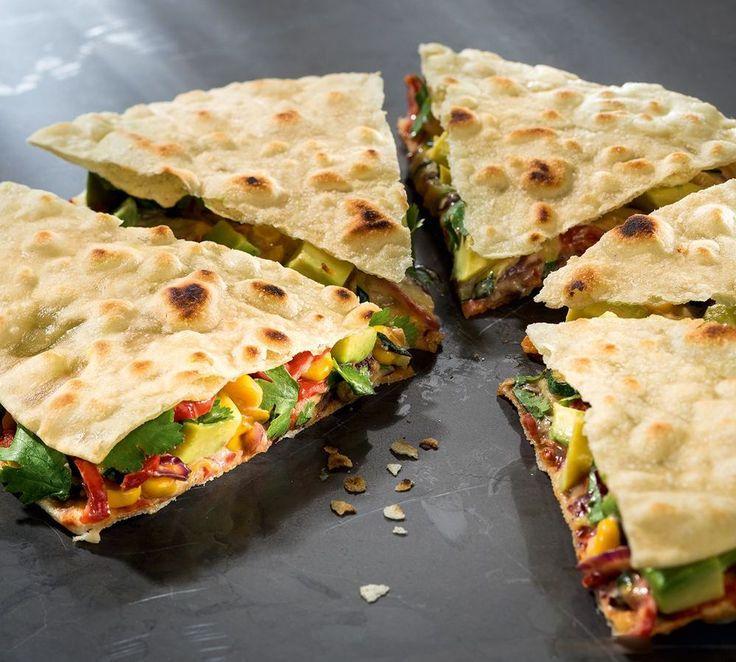 Vegane Quesadillas nach Attila Hildmann   Für Sie