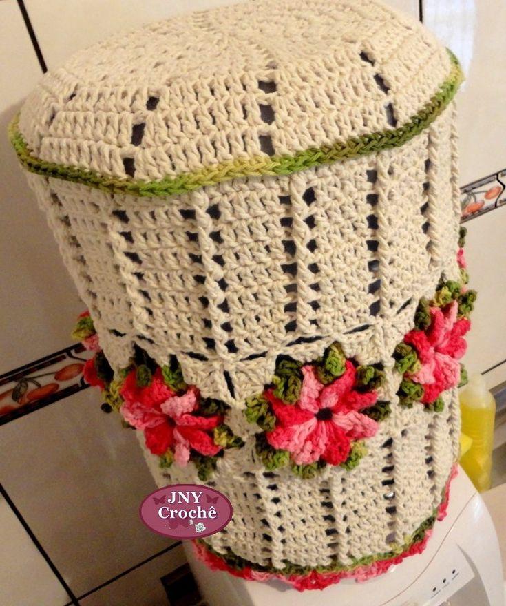 Capa de Galão de água de crochê
