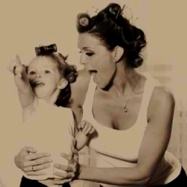 Mommy & me photo :)