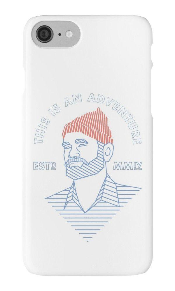 THIS IS AN ADVENTURE by bembureda #iphone #case #sale 25% off #summer #stevezissou #wesanderson #billmurray