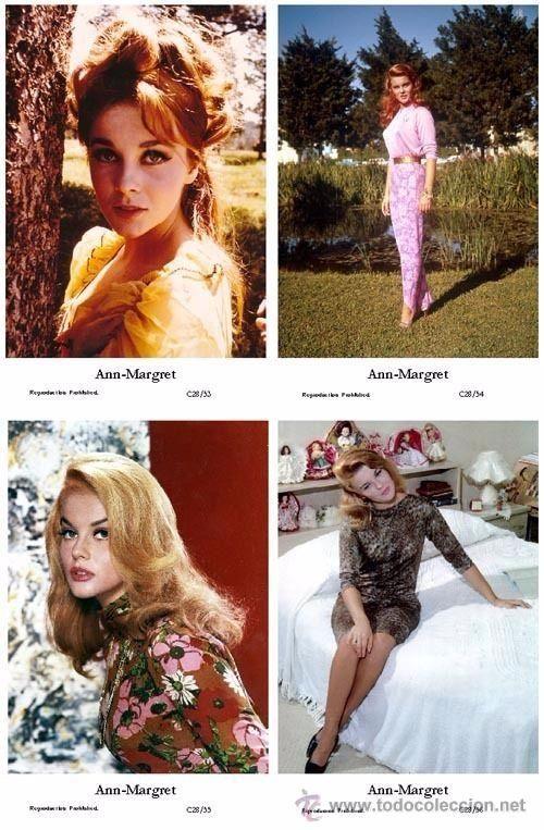 ANN-MARGRET - Film star Pin Up - Publisher Swiftsure Postcards 2000 SET C28/53-56