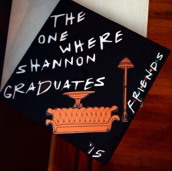 The One Where Shannon Graduates: | 24 Graduation Caps That Totally Fucking Nailed It