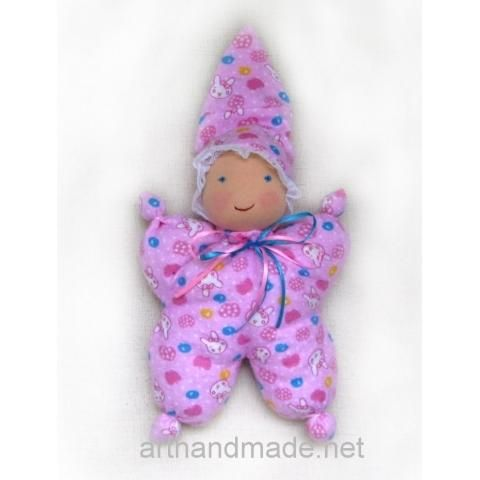 Waldorf doll-butterfly. Author Vera Bochar - arthandmade.net/bochar.vera Doll, waldorf doll, textile doll, original doll, handmade doll, gift, original gift, handmade, craft, Gallery Magical World, кукла, купить куклу, вальфдорская кукла, оригинальная кукла, кукла ручной работы, подарок, оригинальный подарок, ручная работа, Галерея Волшебный мир