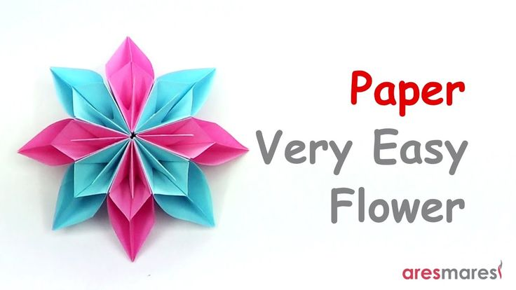 Paper Very Easy Flower (easy - modular) Quick and easy to make, suitable for many occasions!!! #origami #unitorigami #howtomake #handmade #colorful #origamiart #diy #doityourself #paper #papercraft #handcraft #paperfolding #paperfold #paperart #papiroflexia #origamifolding #instaorigami #interior #instapaper #craft #crafts #creative #hobby #оригами #折り紙 #ユニット折り紙 #ハンドメイド #カラフル #종이접기 #اوريغامي