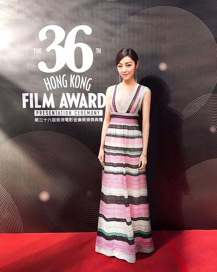 Actress Michelle Wai #michellewsn wearing PreFall17 Collection on the occasion of Hong Kong Film Awards