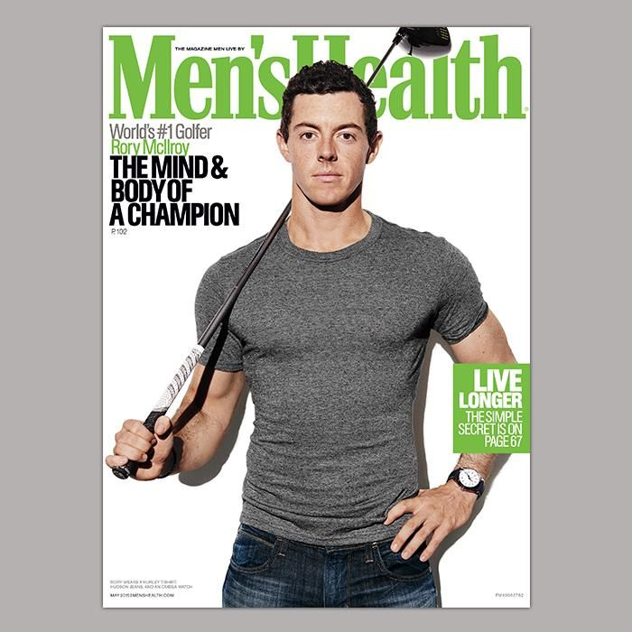 Rory Mcllroy …Congrats first golfer to land the cover of #MensHealth  Magazine...Embedded image permalink