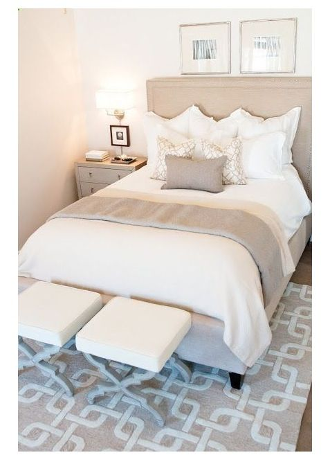 Vloerkleed bed - slaapkamer