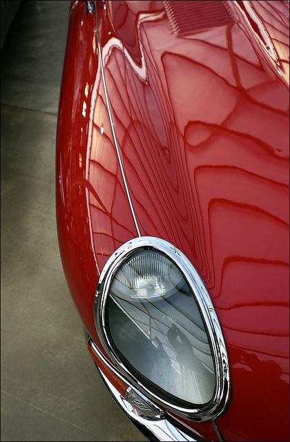 Details. vintage sports car (headlight) by macfred64 on Flickr.
