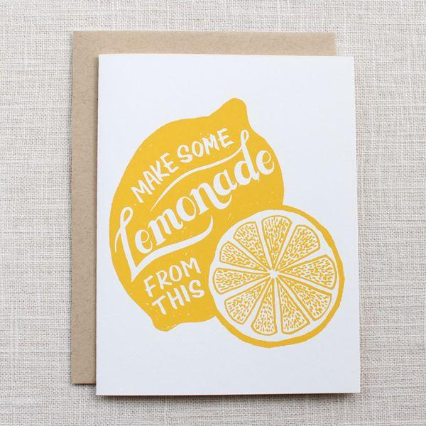 Make Some Lemonade... by Kimberly Munn, via Behance