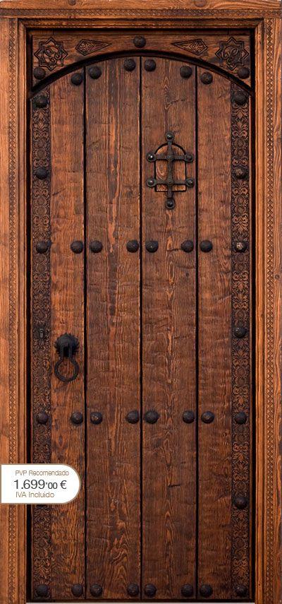 M s de 25 ideas incre bles sobre puertas r sticas en for Manillas puertas rusticas