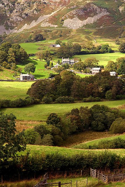 Little Langdale- Lake District UK by tonyreed69, via Flickr