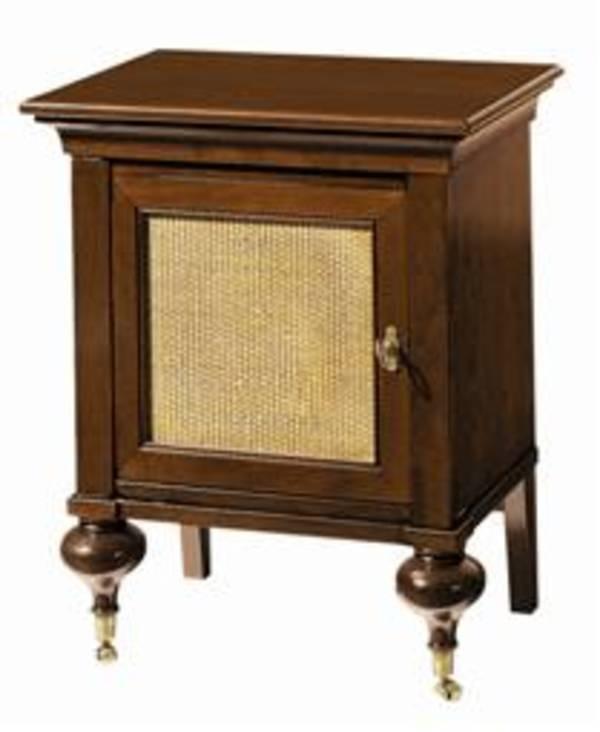 Indochine Bedside Cabinet w Cane, Grange Furniture, Inc  Bedroom ...