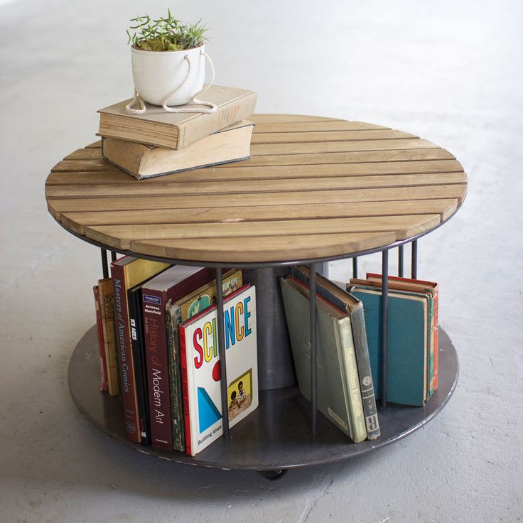Table Round Industrial Coffee Table Gratifying Ballard: Best 550 Books Images On Pinterest