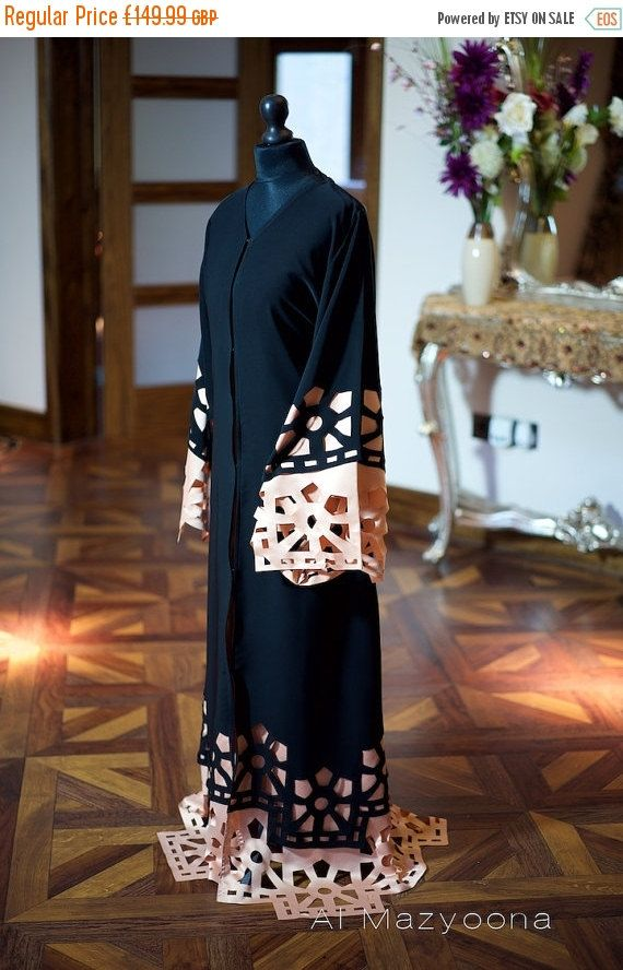 14 DAY PROMOTIONAL SALE Al Mazyoona Black by Almazyoona on Etsy