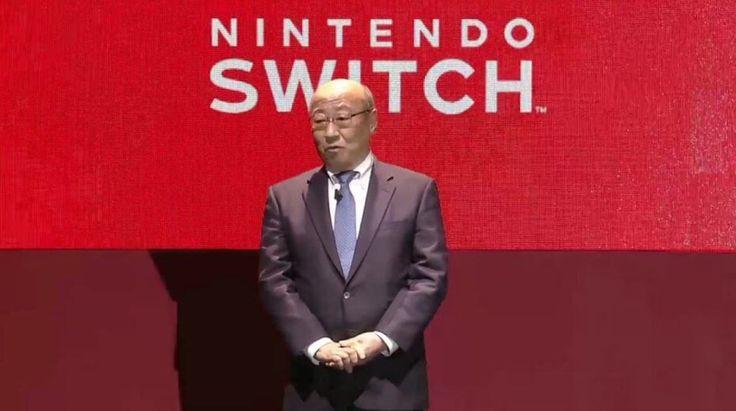 Nintendo's Tatsumi Kimishima hopes new gaming console  will turn sales around