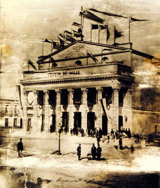 Teatro Solís, 1862