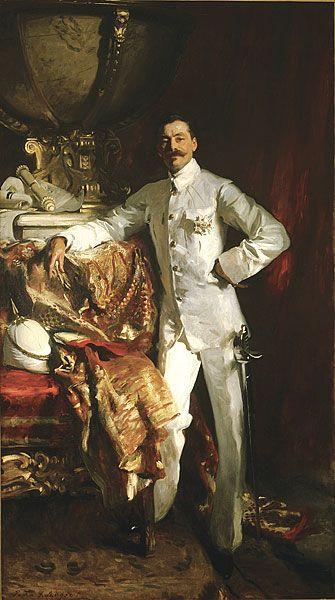Portrait of Sir Frank Swettenham