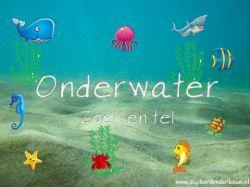 Digibordles onder water - Tellen 1 tot en met 10