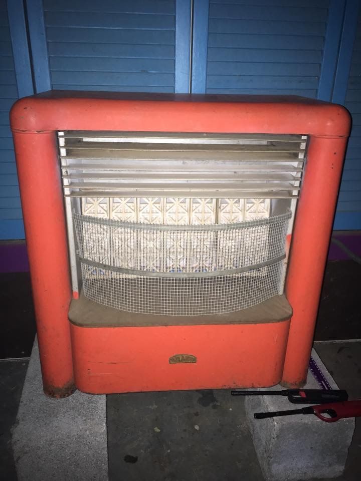 Atlanta Stove Works Gas Heater Model J 40 Now On My Patio Looking For Owners Manual Instructions Gas Heater Heater Diy Projects