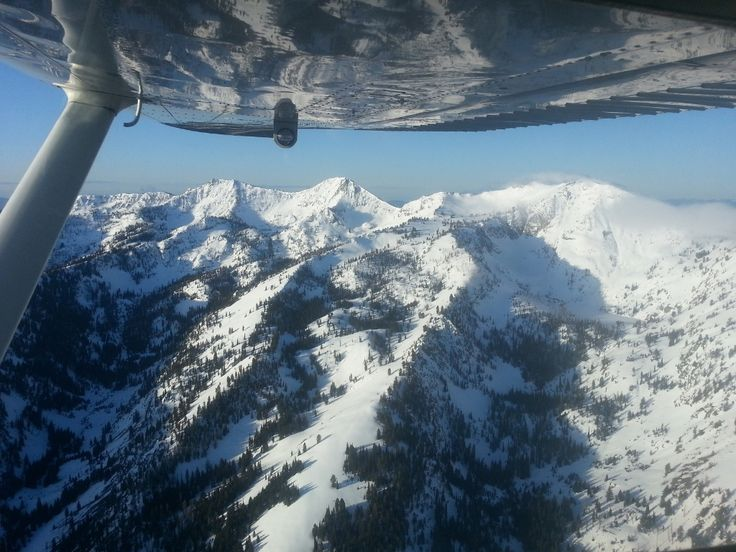 Flying allows me to make Idaho my own Personal Playground!
