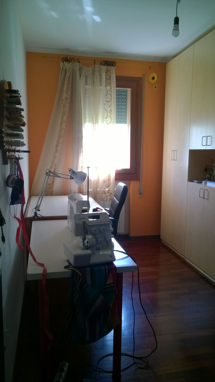 sewing room Bottega Lazzaretto