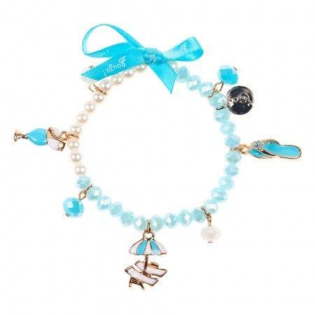 Sousa Armband Blauw bij Minimoda. #Accessoires #Meisjeskleding #Meisjes #School #Armbanden #Armband #Sousa