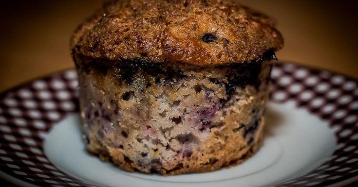 Cuisine-à-Vous: Yoghurt-woudvruchtenmuffins met kaneeltopping