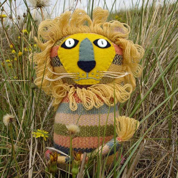 Dandy Lion, by Sally Weatherill