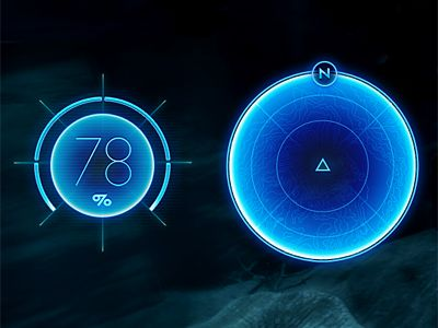 Dribbble - Game UI by Sebastiaan de With
