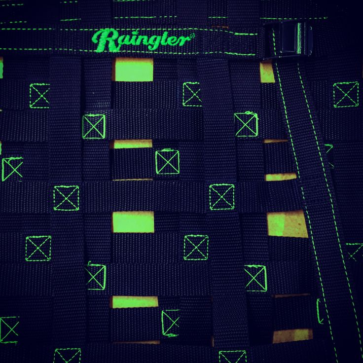 Custom Raingler build in Candy Apple green detail