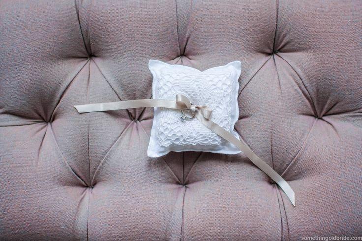 Rustic Ring Pillow by Sometinhg Old Bride http://somethingoldbride.com/
