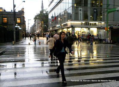 Mañana lluviosa. / Rainy morning.