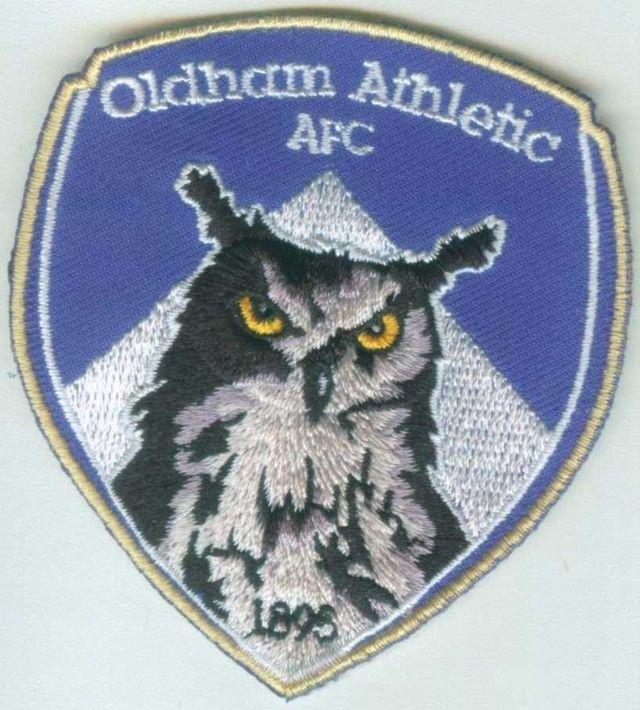Oldham Athletic Association AFC English England Premier League Football Patch