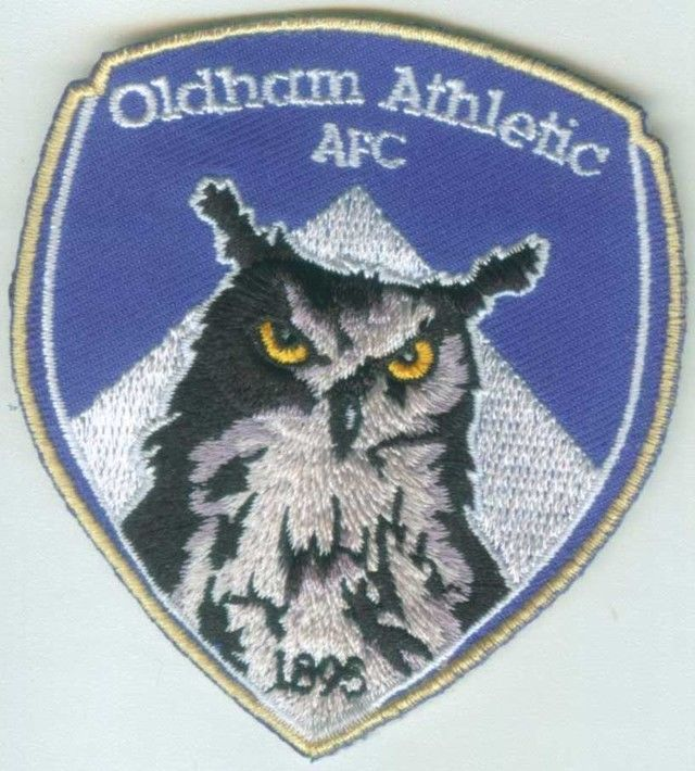 Oldham Athletic Association AFC English England Premier League Football Patch