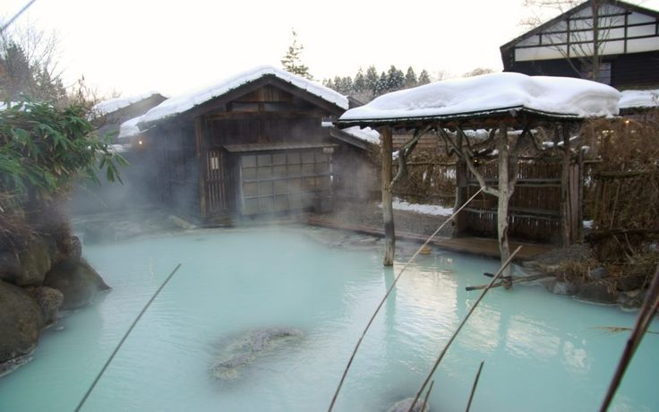 Hanamaki Onsen — Review experience Japanese Onsen bath at Hanamaki onsen resort in Kitakami