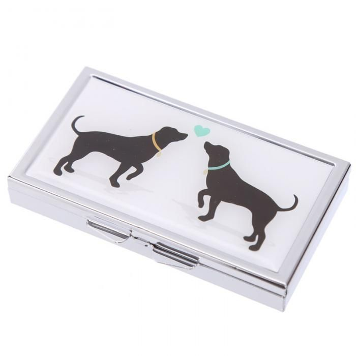 "Krabička na léky ""I Love My Cat and Dog"" #dog #cat #pillbox"