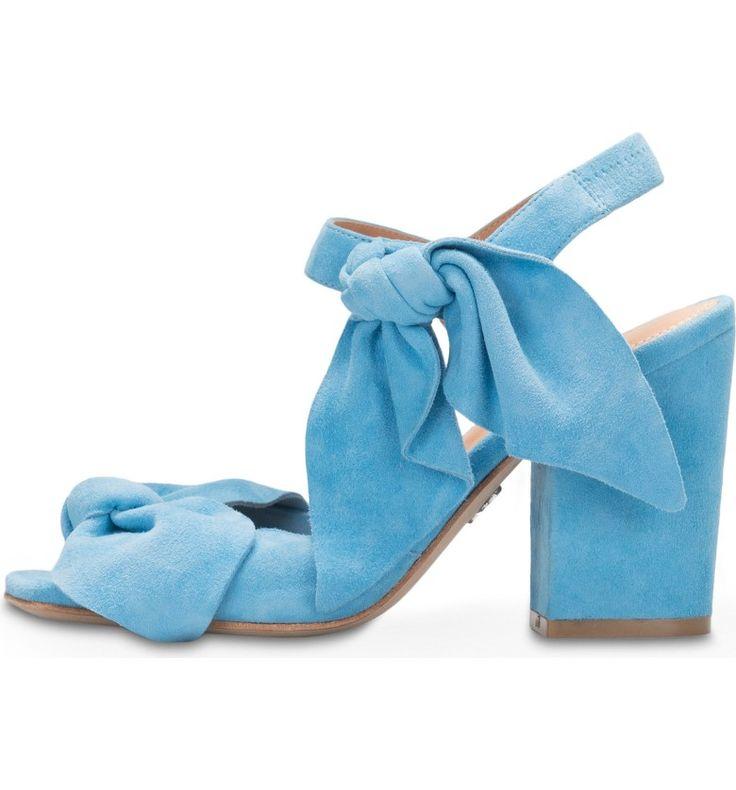 bill blass blue suede shoe