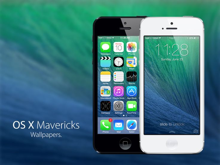 OS X Mavericks Wallpapers by Fiore Arcangelo