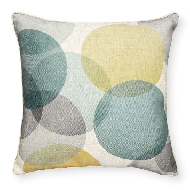 LUNA YELLOW BLUE CUSHION