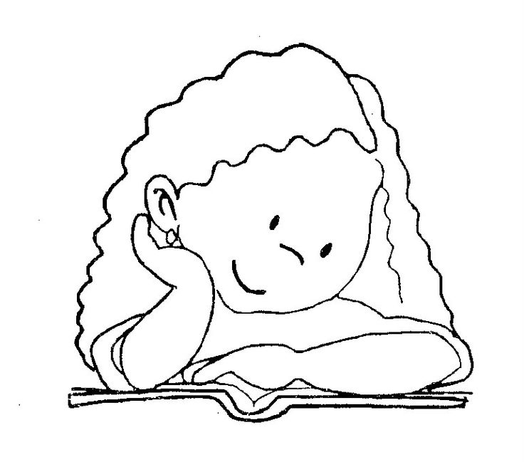 Reading - free coloring pages | Coloring Pages