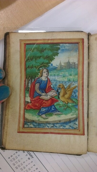Book of hours 15th cent. Latin. (Ms. State Library of N.S.W. )   From 1490, really old and really cool  To search for more State Library's collection http://www.sl.nsw.gov.au/