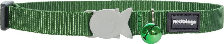 Take your cat outdoors safely in a versatile, good looking collar. With style and strength, the quality nylon webbing and abrasion resistant ribbon ensure long lasting comfort. Featuring a safety release fish clip and wildlife protection bell.