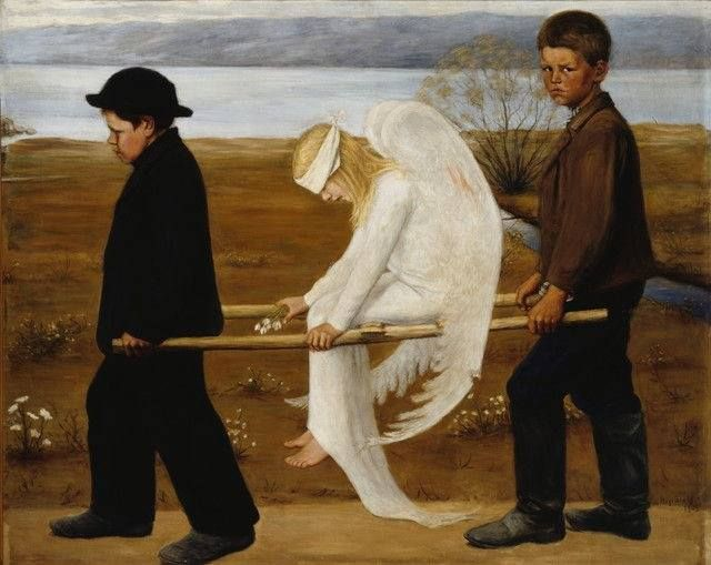 Hugo Simberg_The Wounded Angel_1903. Ateneum, Helsinki