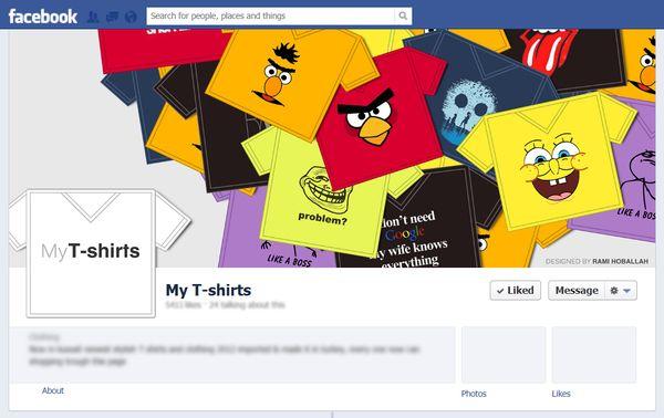 Facebook Covers by Rami Hoballah, via Behance