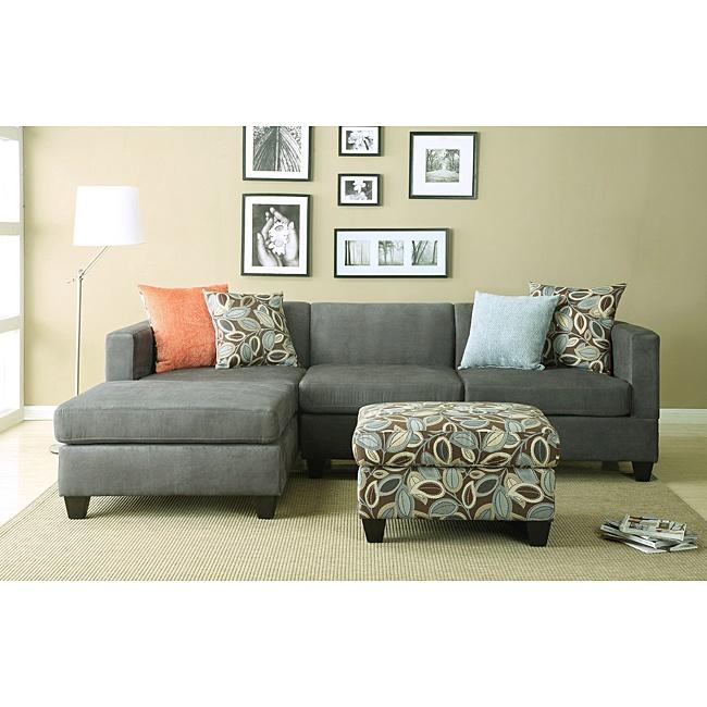 Anthony Charcoal Sectional Sofa Set  $1059.99