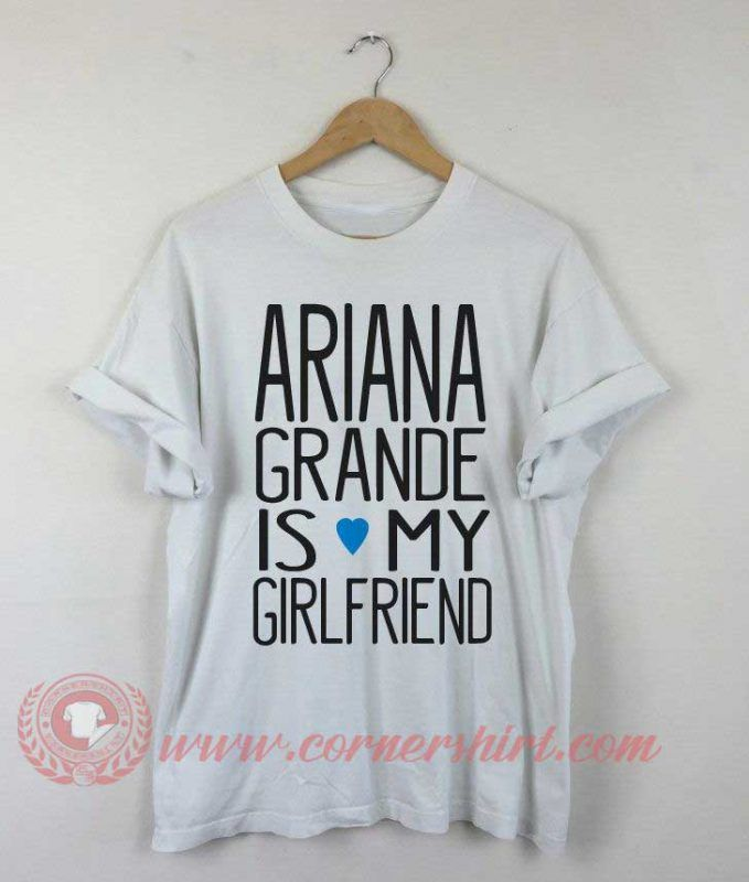 Buy T shirt Ariana Grande is My Girl Friend T shirt For Men and Women #tshirt #tee #tees #shirt #apparel #clothing #clothes #customdesign #customtshirt #graphictee #tumbrl #cornershirt #bestseller #bestproduct #newarrival #unisex #mantshirt #mentshirt #womanTshirt #text #word #white #whitetshirt #menfashion #menstyle #style #womenstyle #tshirtonlineshop #personalizetshirt #personalize #quote #quotestshirt #wear #personalizedtshirt #outfit #womenfashion #arianagrande