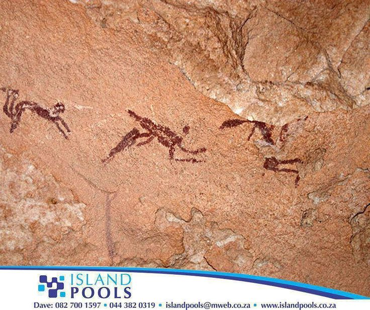 """#ThrowbackThursday: Swimming has been known since prehistoric times. Drawings from the Stone Age were found in """"the cave of swimmers"""" near Wadi Sora (or Sura) in the southwestern part of Egypt. #IslandPools"""