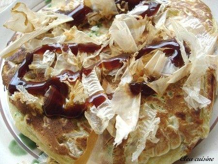 okonomiyaki (crêpe Osaka)